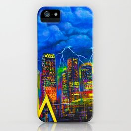 City of Bolts iPhone Case