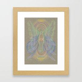 New Beginning Angel Framed Art Print
