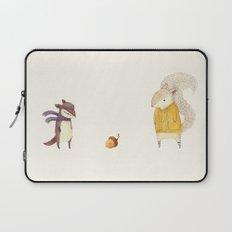 The Last Acorn of Autumn Laptop Sleeve