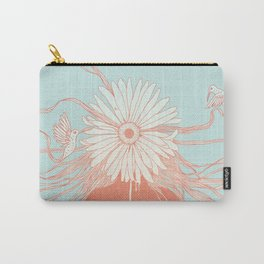 Flower Girl (Life and the Fragile Presence of Beauty) Carry-All Pouch