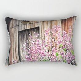 Little Spring Barn Rectangular Pillow