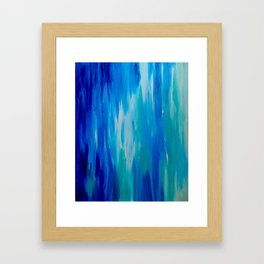 Ocean Longing Framed Art Print