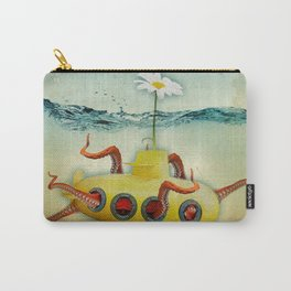 octopus submarine Carry-All Pouch