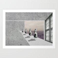 Fenêtre Art Print