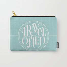 Travel with Teal Carry-All Pouch
