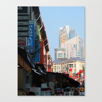 singapore Canvas Prints featuring Singapore by Irma Rose Photography