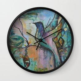 Coming Home Wall Clock