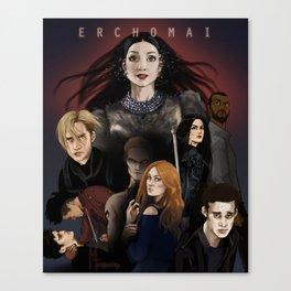 Erchomai Canvas Print