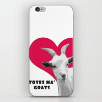 totes iPhone & iPod Skins featuring Totes Ma Goats - Red by BACK to THE ROOTS