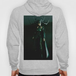 It's come to my attention that you don't know who I am. I am Hela. Odin's firstborn... Hoody