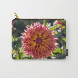Dahlia / In The Garden / 1 Carry-All Pouch