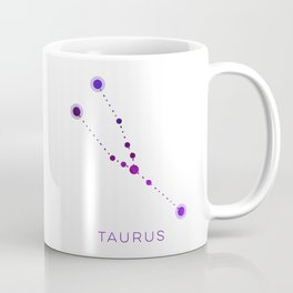 TAURUS STAR CONSTELLATION ZODIAC SIGN Coffee Mug
