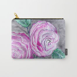 The pink roses Carry-All Pouch
