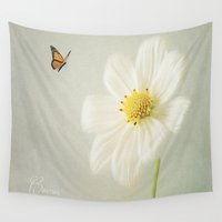 cosmos Wall Tapestries featuring Cosmos by Fine Art by Rina