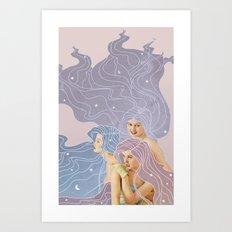 The Three Fates Art Print