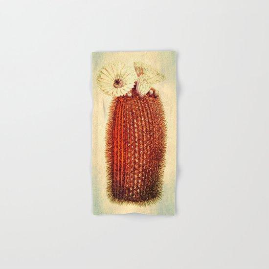 cactus with light Hand & Bath Towel