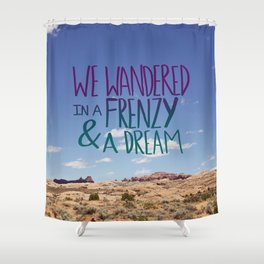 Frenzy + Dream Shower Curtain