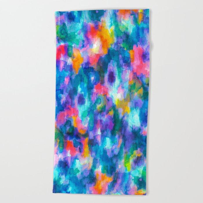 Paradise (Blue) Beach Towel