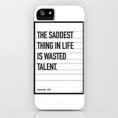 My Bronx Tale Movie Quote poster iPhone (5, 5s) Slim Case