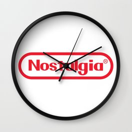 Nostalgia Nintendo Style Wall Clock