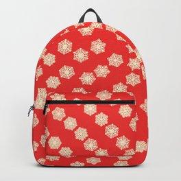 Christmas Snowflakes Backpack