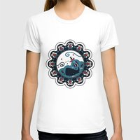 the whale T-shirts featuring whale by gazonula