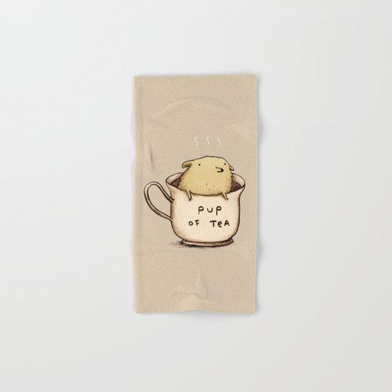 Pup of Tea Hand & Bath Towel