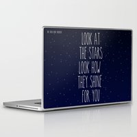 coldplay Laptop & iPad Skins featuring Look How They Shine For You by Adel