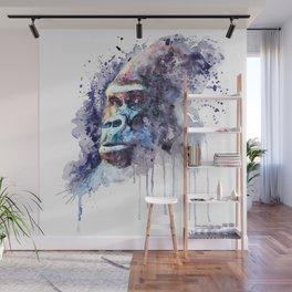 Powerful Gorilla Wall Mural