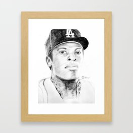 N.W.A. Series, Dr. Dre Framed Art Print