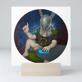 Sam The Shirtcockin Space Pimp Mini Art Print
