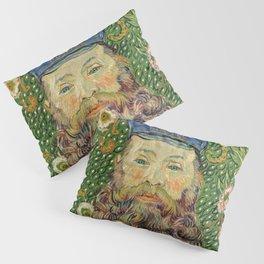 Vincent Van Gogh - Portrait of the Postman Joseph Roulin Pillow Sham