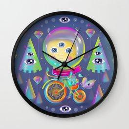 Just Ride Wall Clock