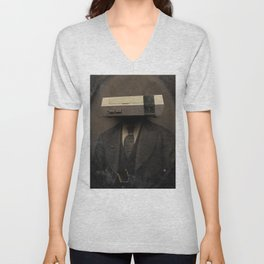 Faces of the Past: Console Unisex V-Neck