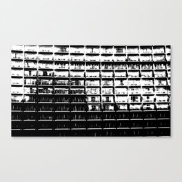 Apartments Just the Same Canvas Print