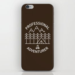 Professional Adventurer iPhone Skin