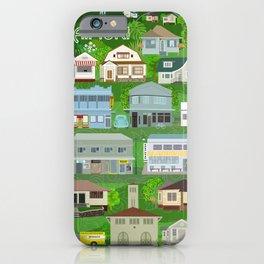 KAIMUKI TOWN, HAWAII iPhone Case