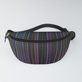 Decorative Colorful Stripes Fanny Pack