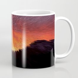 Explosive Sunset Coffee Mug