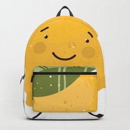 Happy Lemon Backpack