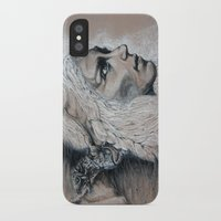 mother of dragons iPhone & iPod Cases featuring Mother by Clayton Young