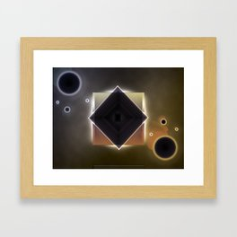 Untitled Abstract #1 Framed Art Print
