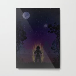 Dragon Ball | Warriors Landscapes Serries Metal Print