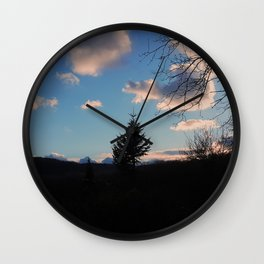 UNIQUE IN THE FOREST Wall Clock