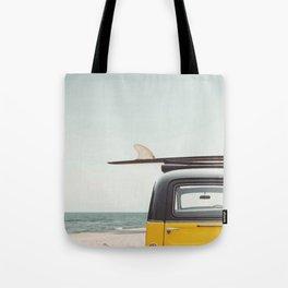 Surfing van Tote Bag