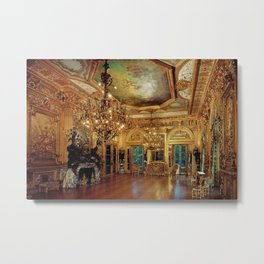 Newport Mansions, Rhode Island - Marble House - Gold Room #1 Metal Print