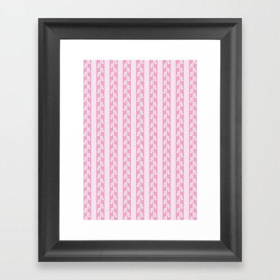 Pink Joy Framed Art Print