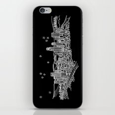 Los Angeles, California City Skyline iPhone & iPod Skin
