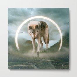aegis   wolf Metal Print