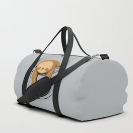 Sloth in a Pocket Duffle Bag
